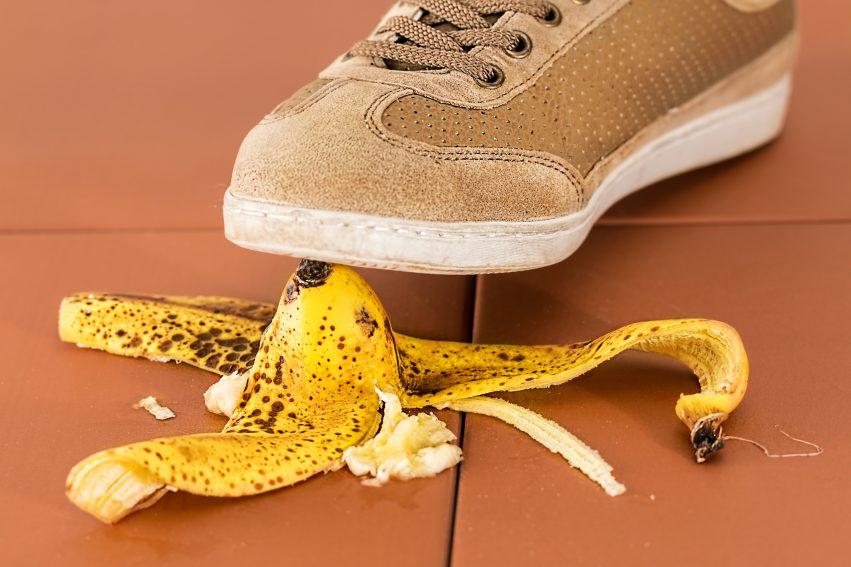 Banana Skin Slip